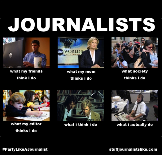 Journalists Job Meme photo